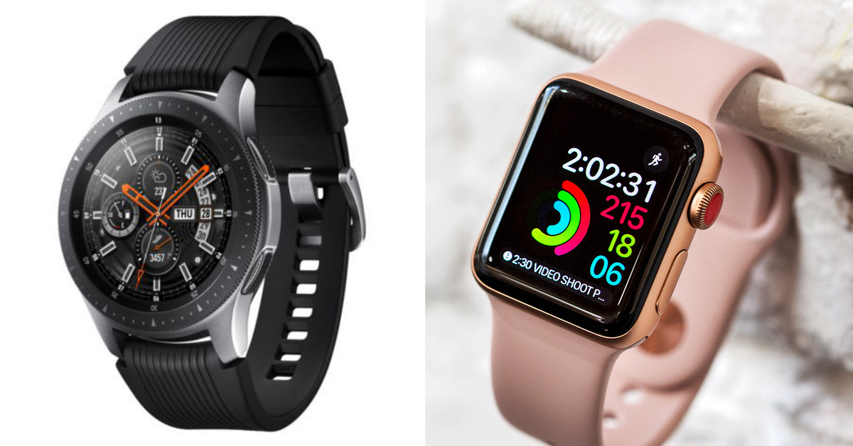 photo image How the Samsung Galaxy Watch stacks up against the Apple Watch Series 3