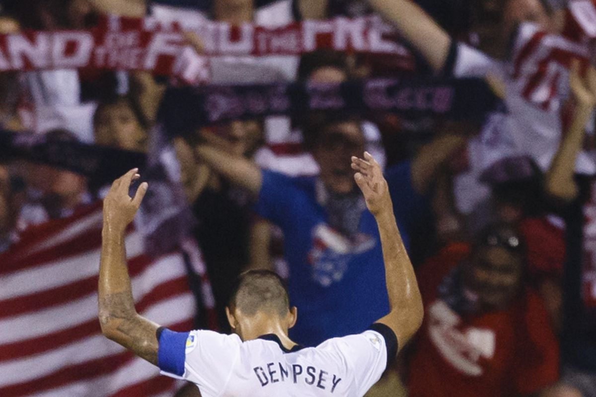 Dempsey is so lazy, he misses PKs on purpose.