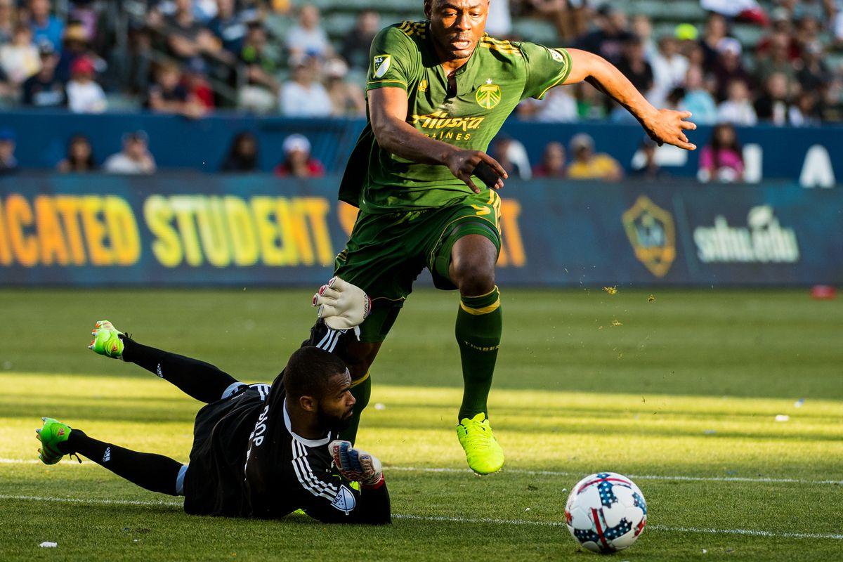 MLS Soccer - Los Angeles Galaxy v Portland Timbers