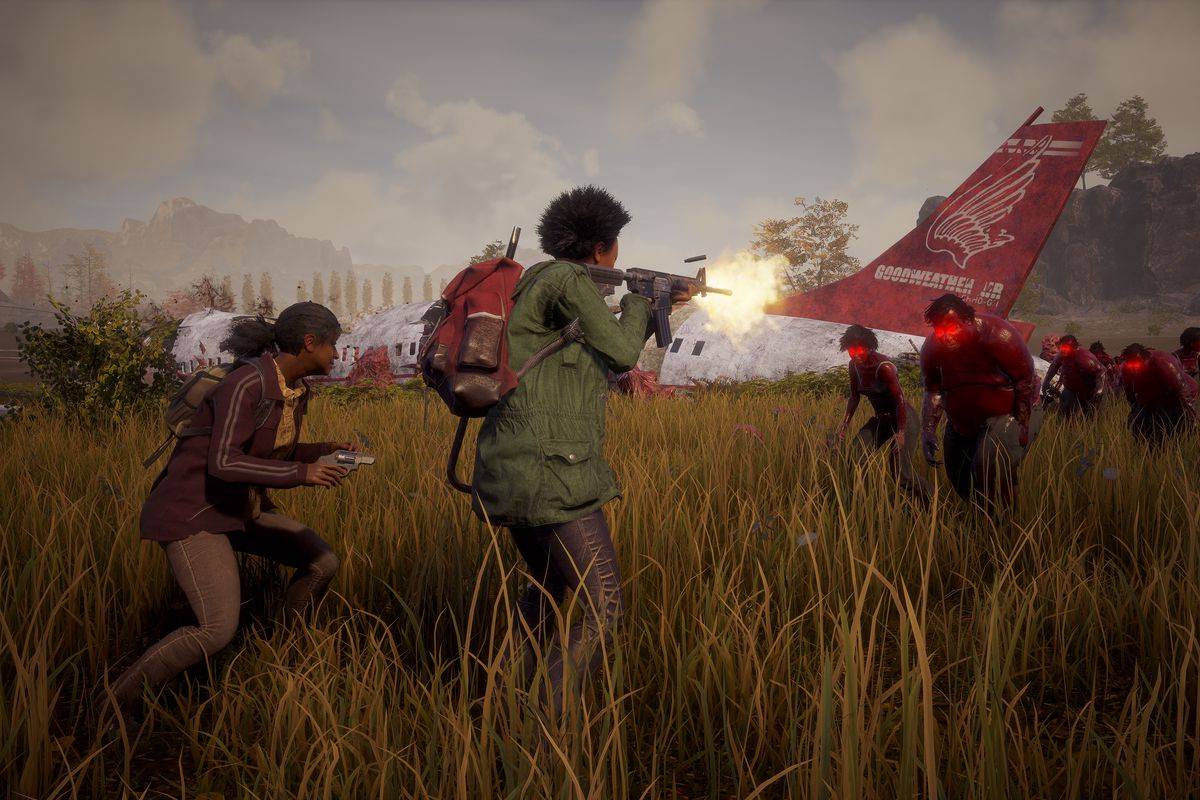 State of Decay 2 land is harder, but serves up a ... on destiny map size, red dead redemption map size, tomb raider map size, grand theft auto iv map size, sunset overdrive map size, forza horizon 2 map size, star citizen map size, just cause 3 map size, x rebirth map size, unturned map size, minecraft map size, the witcher map size, wasteland 2 map size, rage map size, deadlight map size, h1z1 map size, game of thrones map size, 7 days to die map size, open world map size, the forest map size,