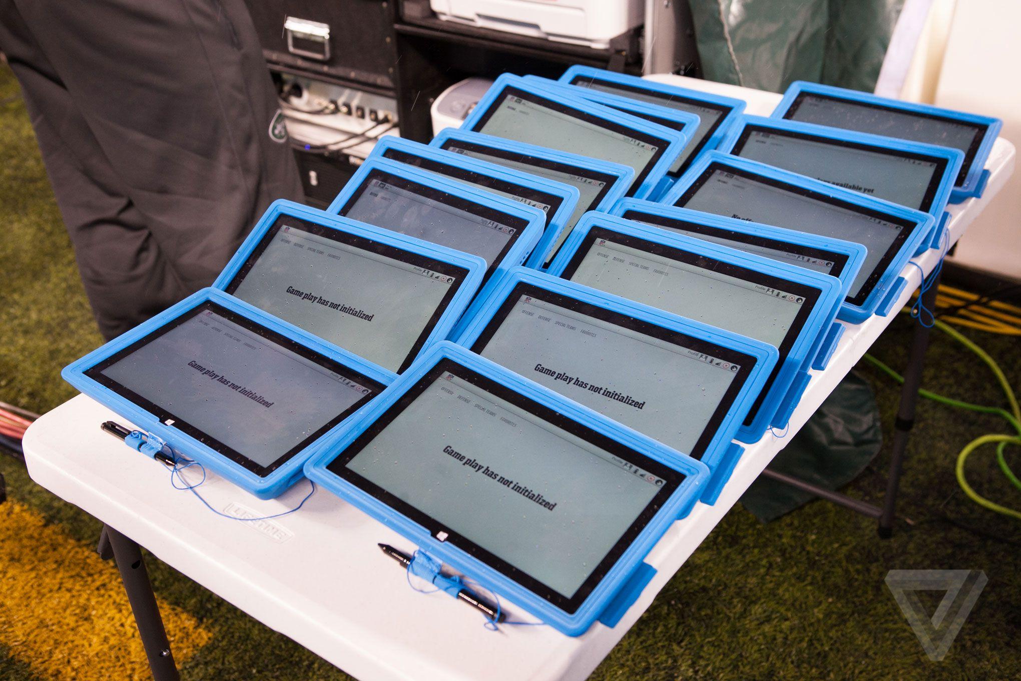 NFL Surface tablet