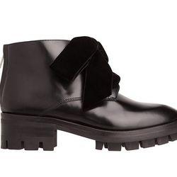 "Sandro 'Aline' ankle boots, <a href=""http://us.sandro-paris.com/h14-aline-black-42.html?___store=sandro"">$695</a>"