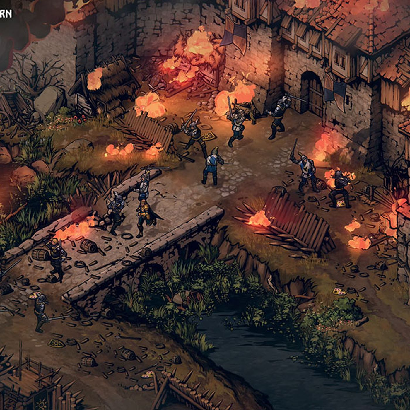 Thronebreaker: The Witcher Tales is a card-powered isometric