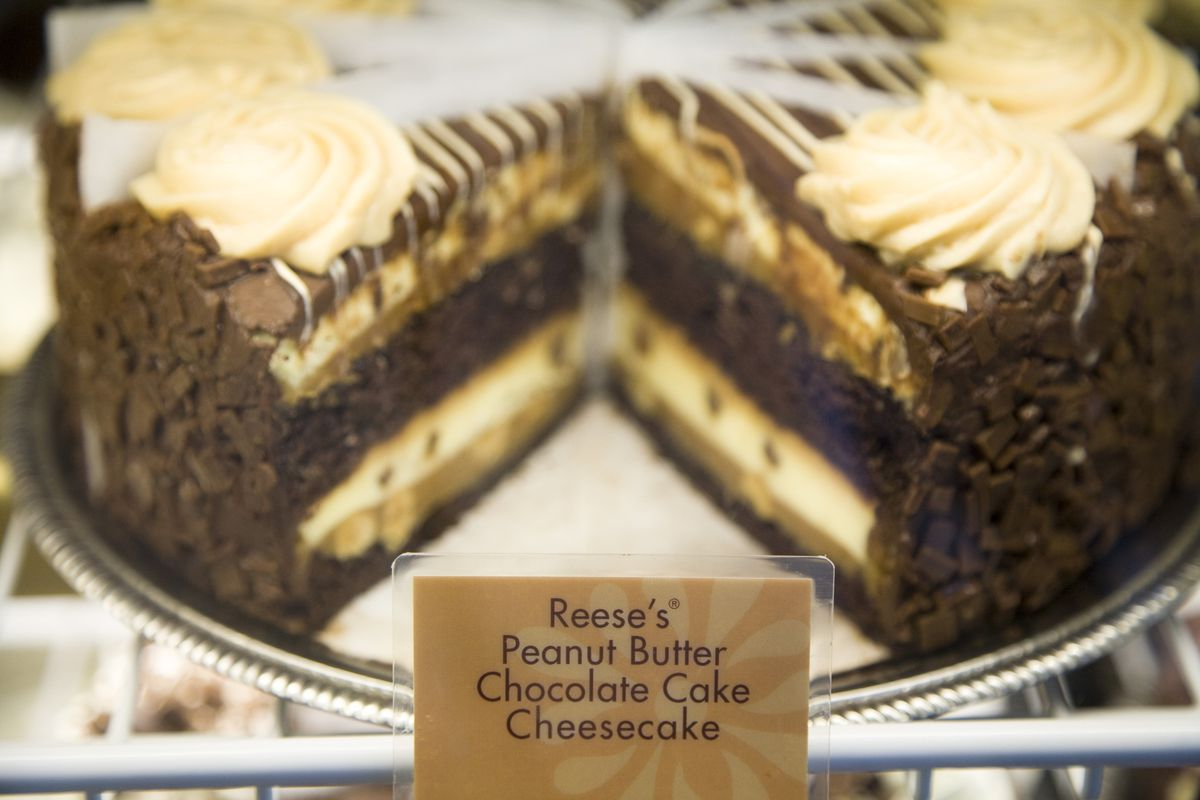 The Cheesecake Factory's Reese's Peanut Butter Chocolate Cake Cheesecake