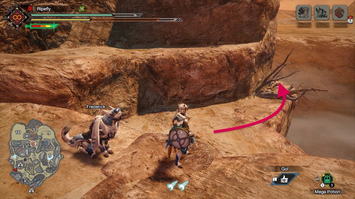Monster Hunter Rise guide: Sandy Plains collectible relic records locations
