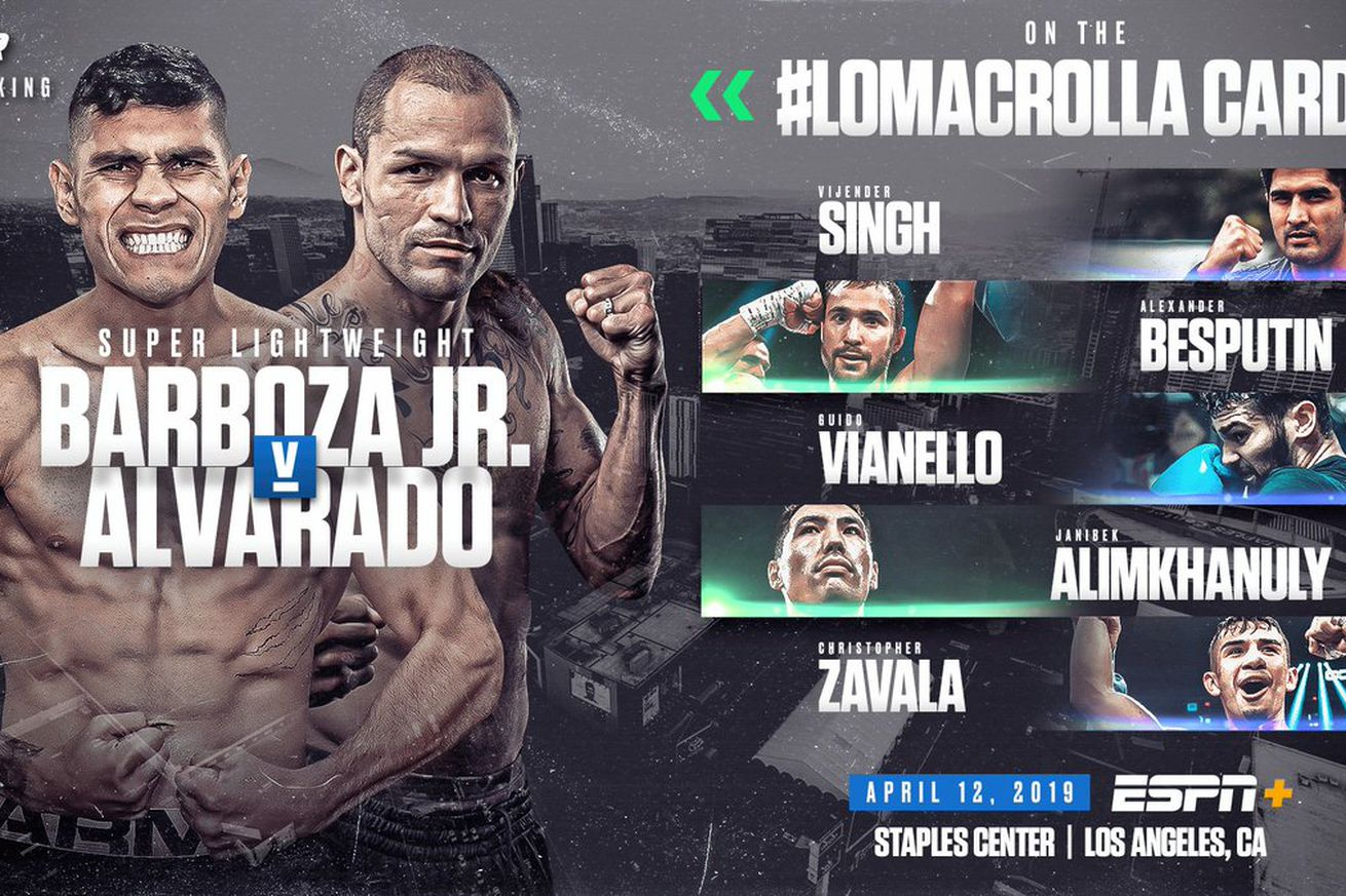 D183WJMUYAEGnxD.0 - Barboza Jr.-Alvarado headlines Lomachenko-Crolla undercard