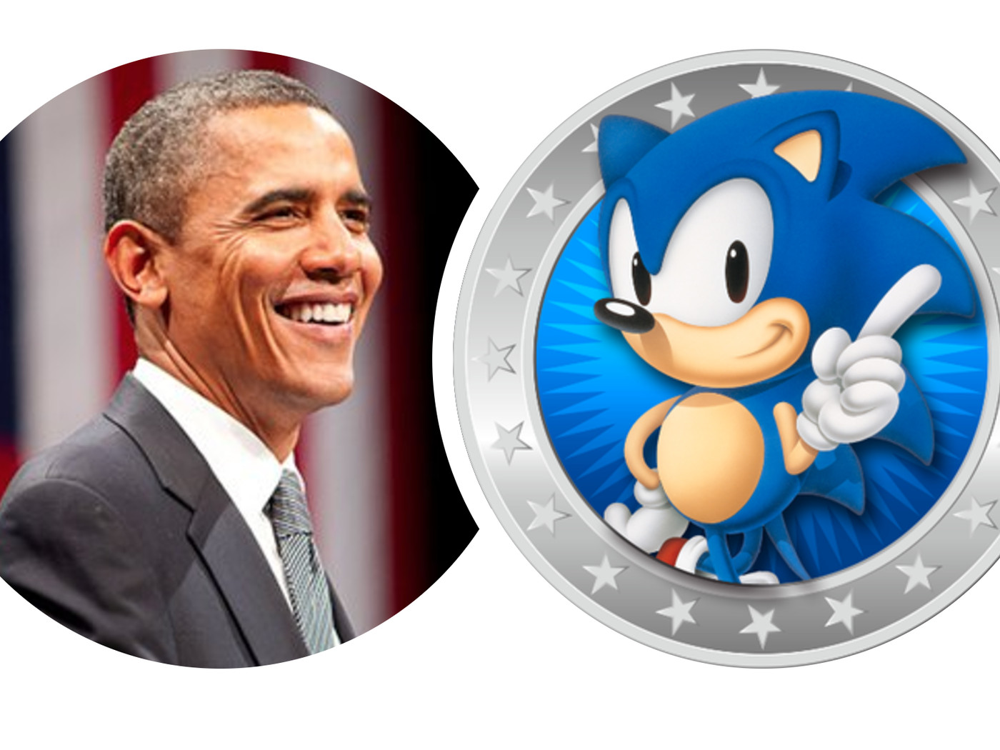 Behold The Twitter Lovechild Of President Obama And Sonic The Hedgehog The Verge
