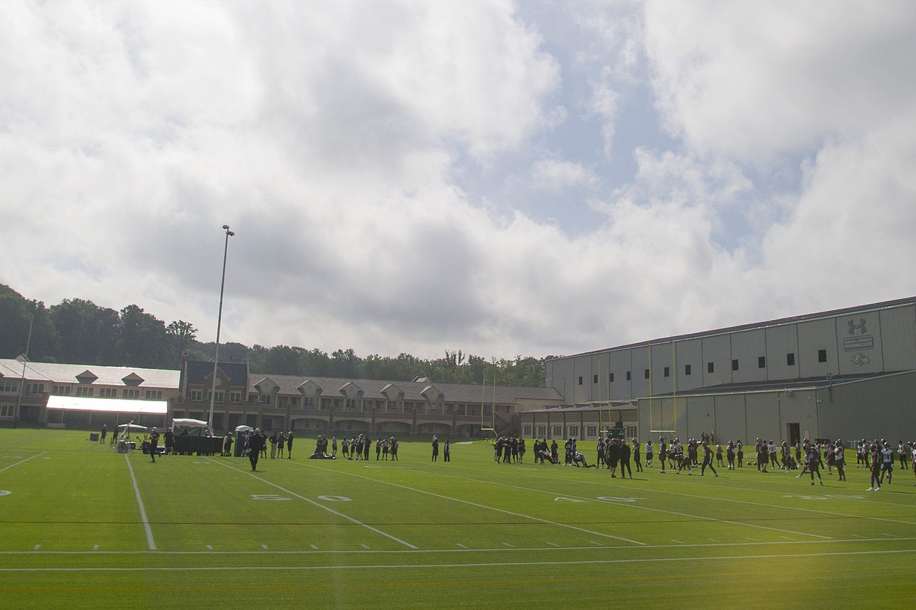 Ravens Training Camp: Day Zero
