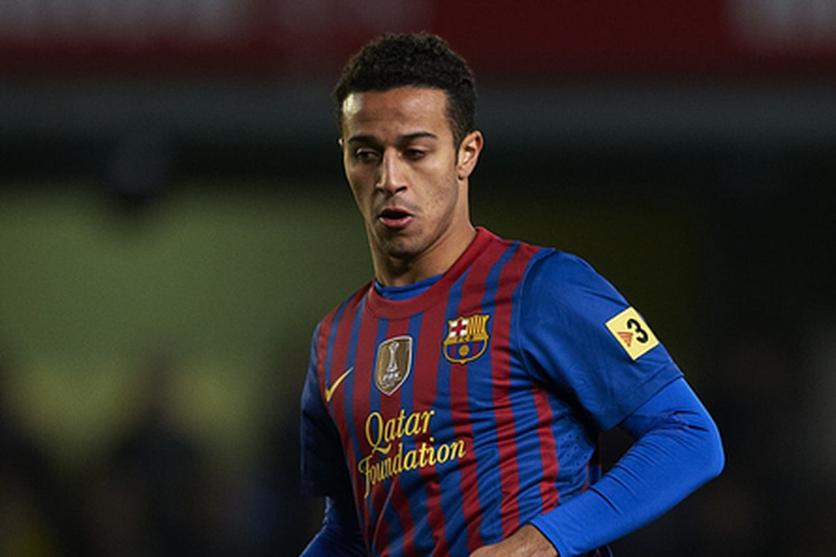 Thiago's back from injury and ready to start tonight