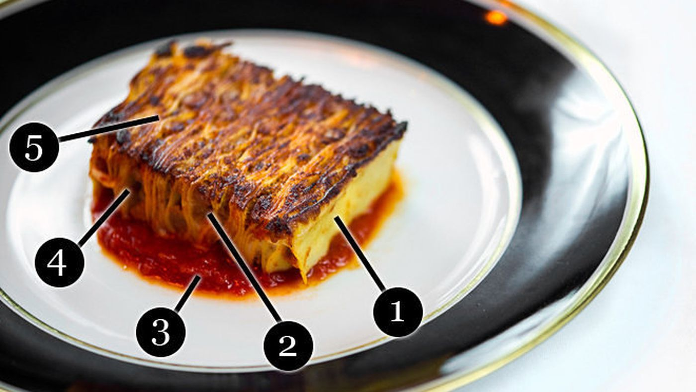 The 20 Layer Lasagne at Del Posto in NYC   Eater
