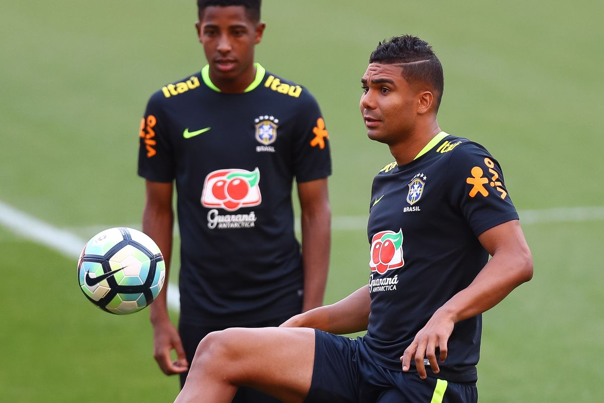 Brazil Training Session - 2018 FIFA World Cup Russia Qualifier