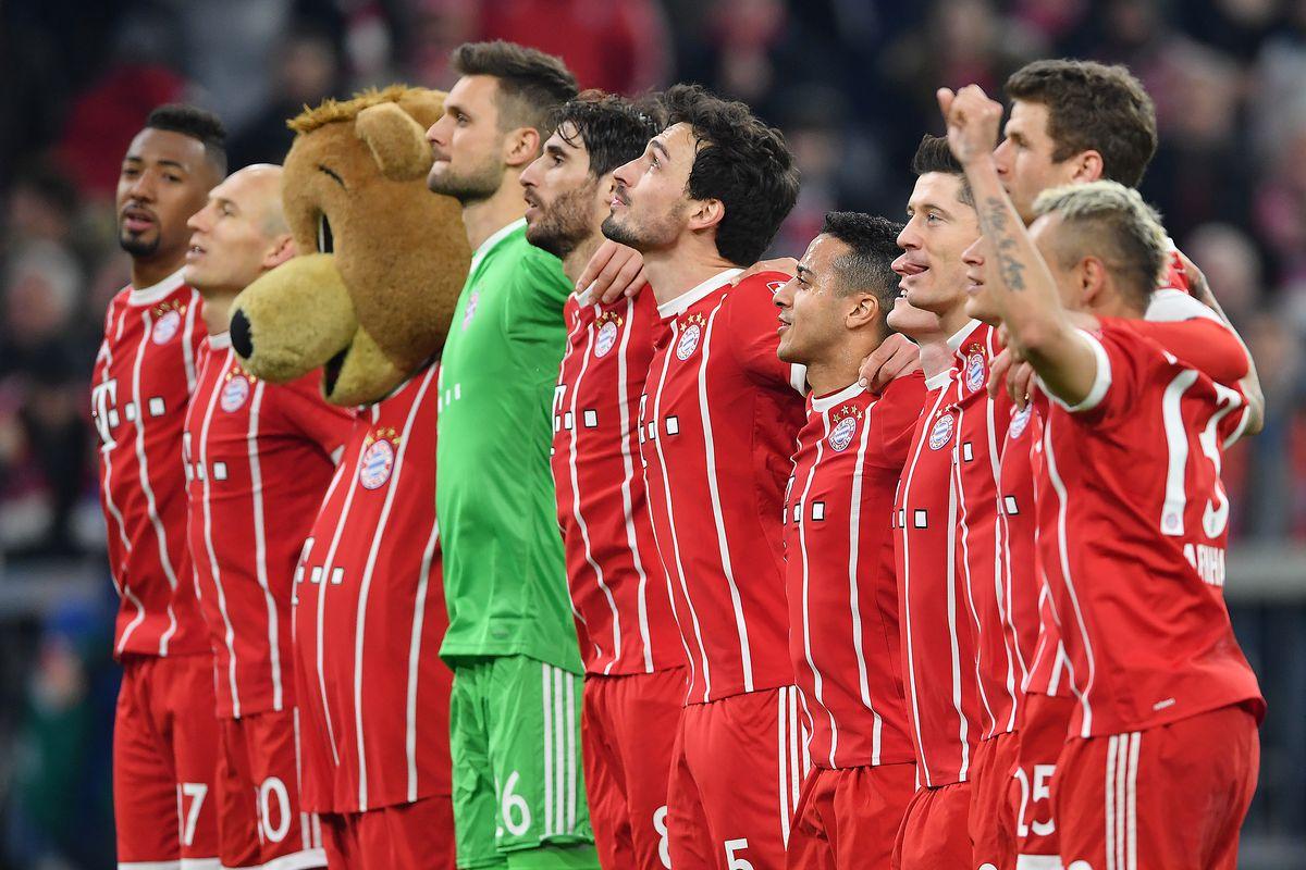 Match awards from Bayern Munich's 4-1, title-clinching win ...
