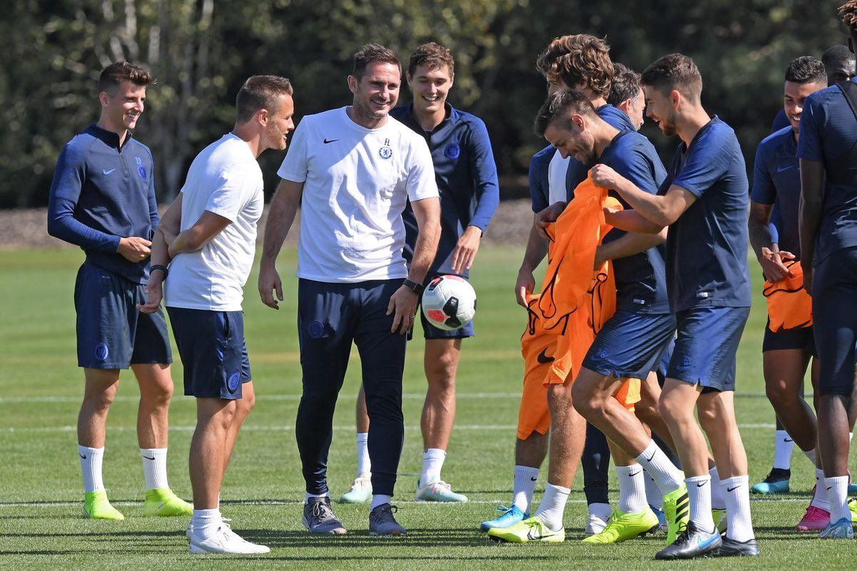 Chelsea Open Training Cobham