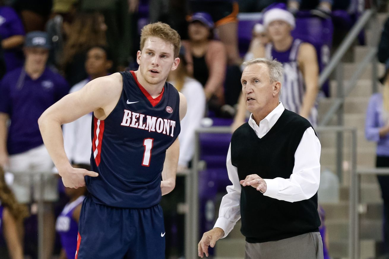 Rick Byrd's Belmont Bruins take on Austin Peay in tonight's first OVC semifinal in Evansville, Indiana.