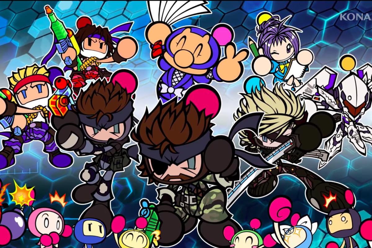 Character art from Super Bomberman R