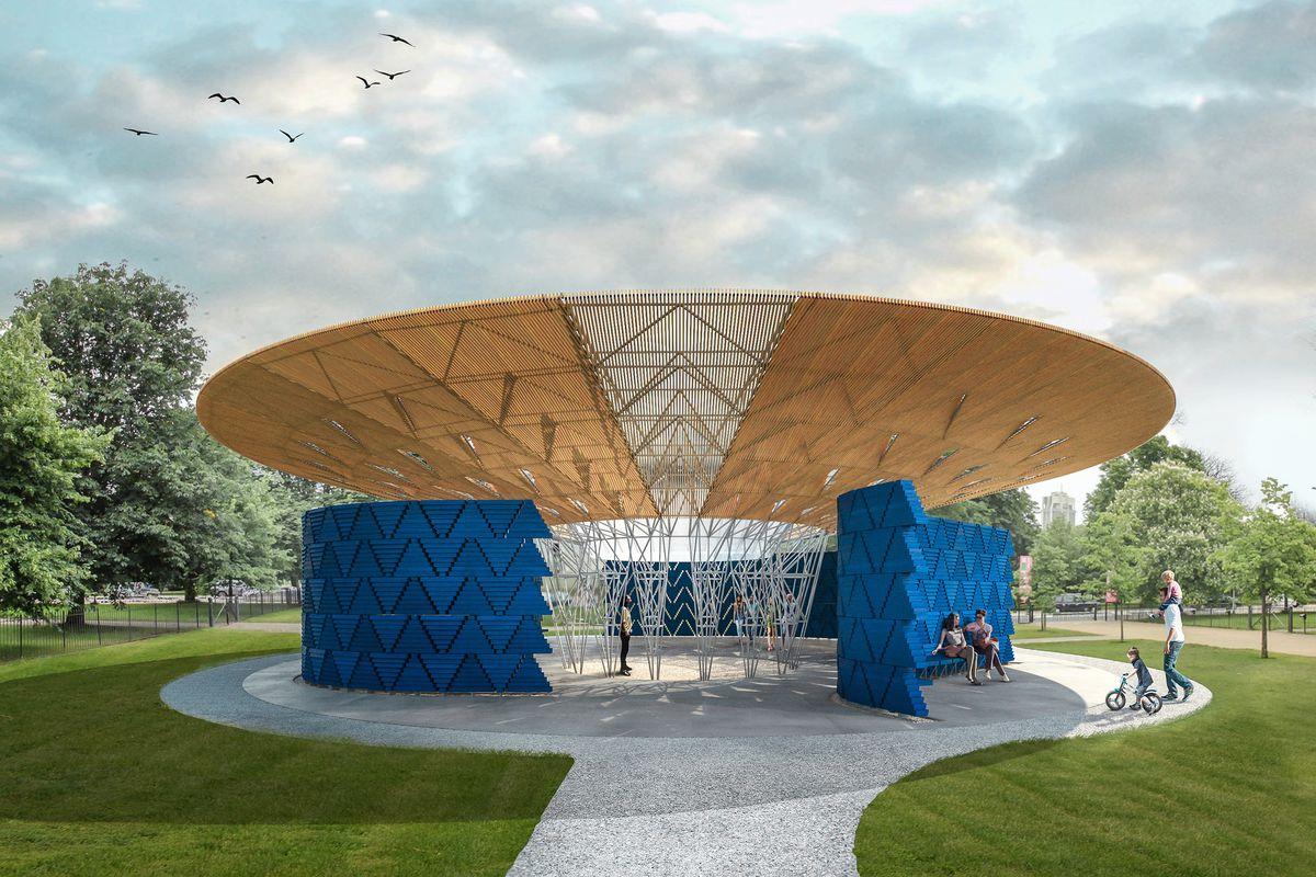 tree-like pavilion