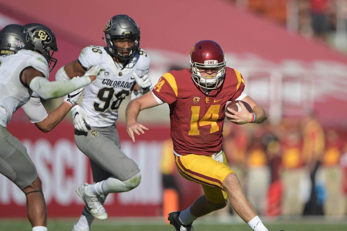 NCAA Football: Colorado at Southern California