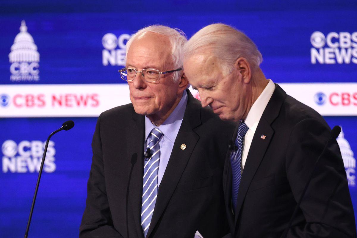 Democratic Presidential Candidates Debate In Charleston Ahead Of SC Primary