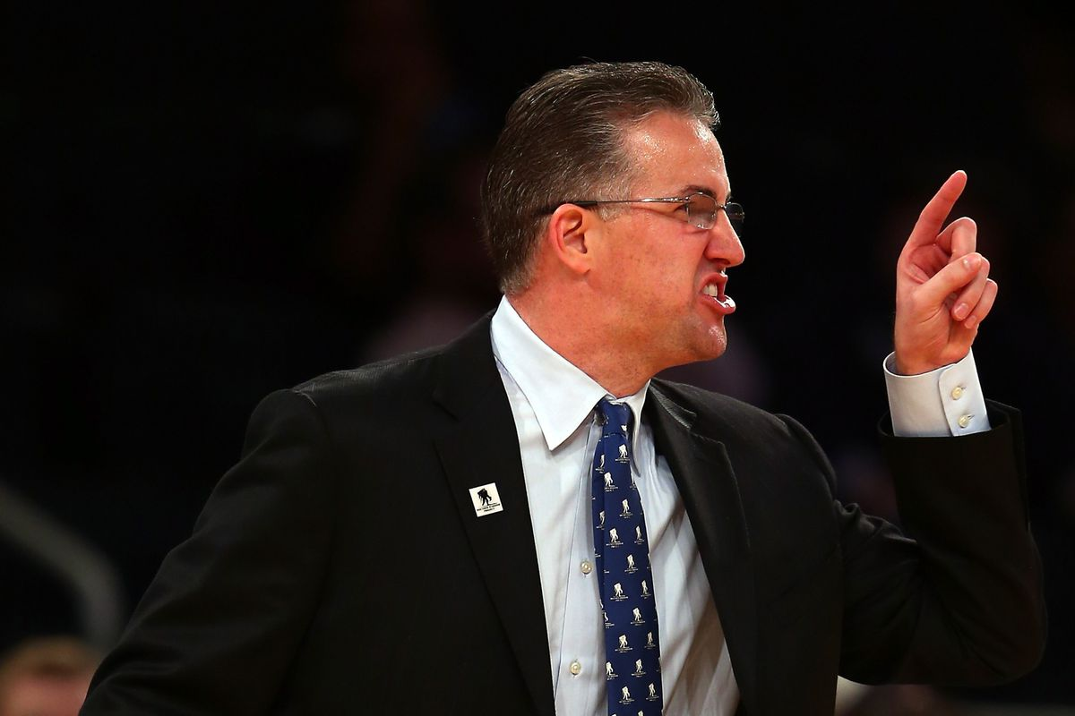 Matt Painter is clearly upset in this picture.
