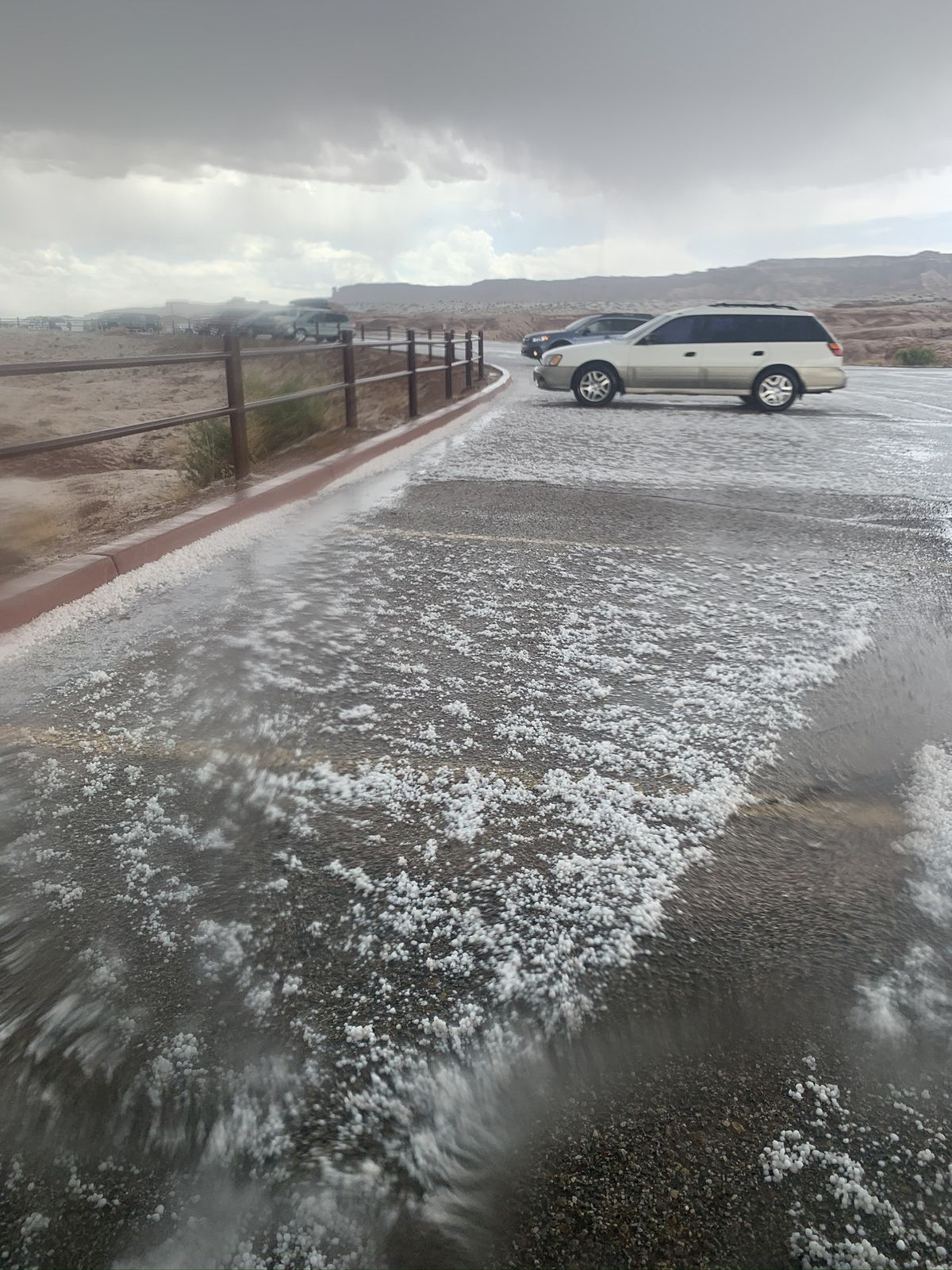 Heavy rains flooded a slot canyon near Goblin Valley State Park in an area called Little Wildhorse Canyon on Monday, May 11, 2020, that killed a 7-year-old who was hiking with her family. Her 3-year-old sister is still missing.