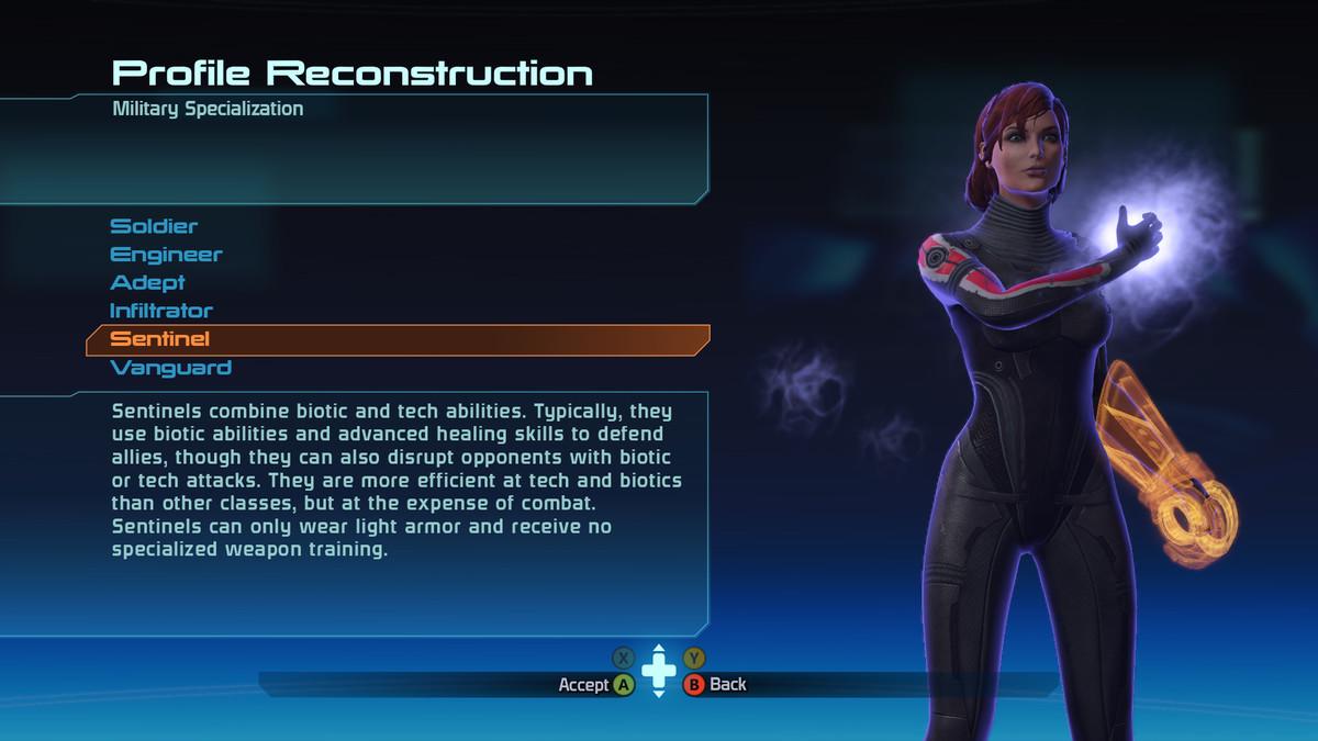 Mass Effect military screen