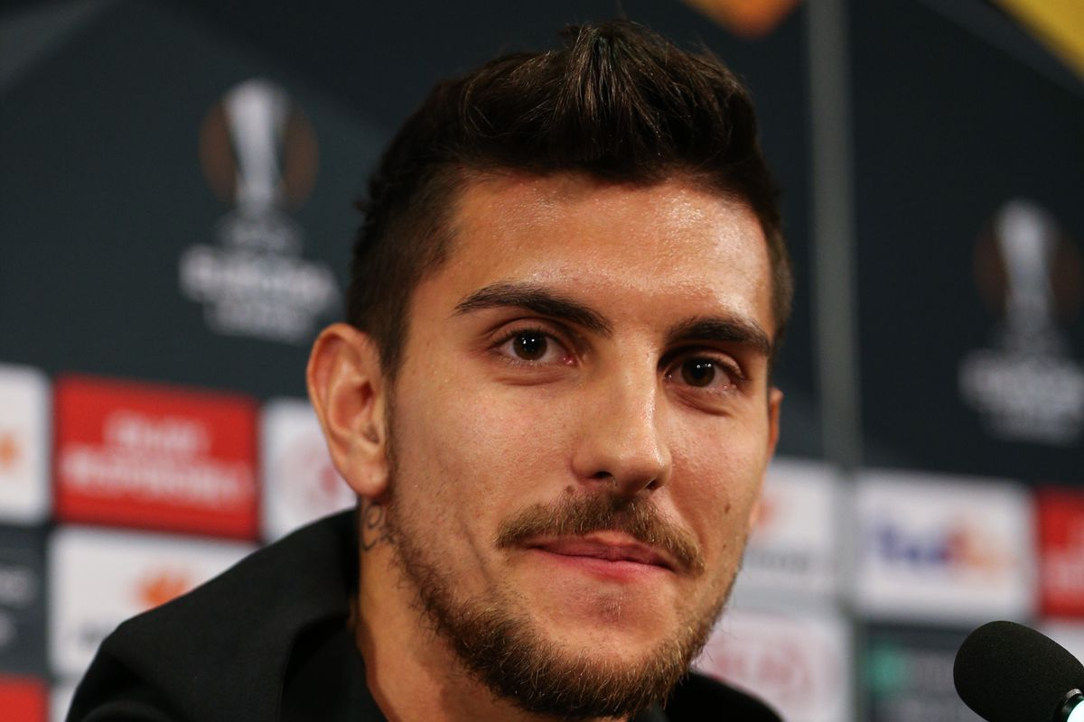 AS Roma's press conference