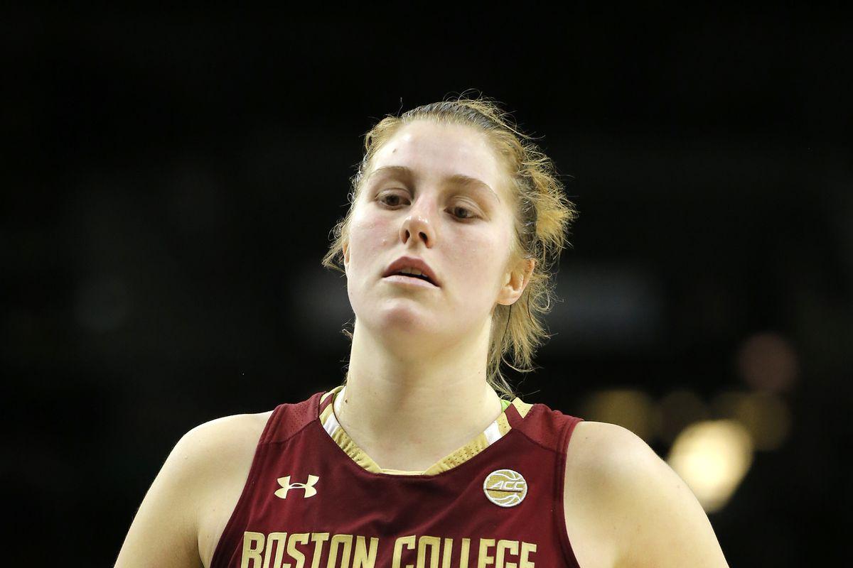 Holy Cross Takes Down Boston College Women's Basketball