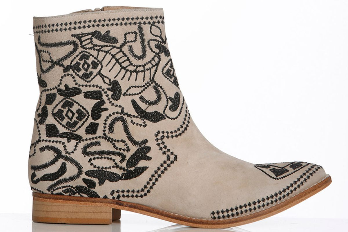 Plomo boots, available this spring at Luigi & Lola