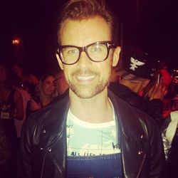 """We ran into our <a href=""""http://la.racked.com/archives/2014/02/14/brad_goreski_on_designing_postits_red_carpet_predictions_more.php"""">colorful</a> pal/stylist Brad Goreski."""