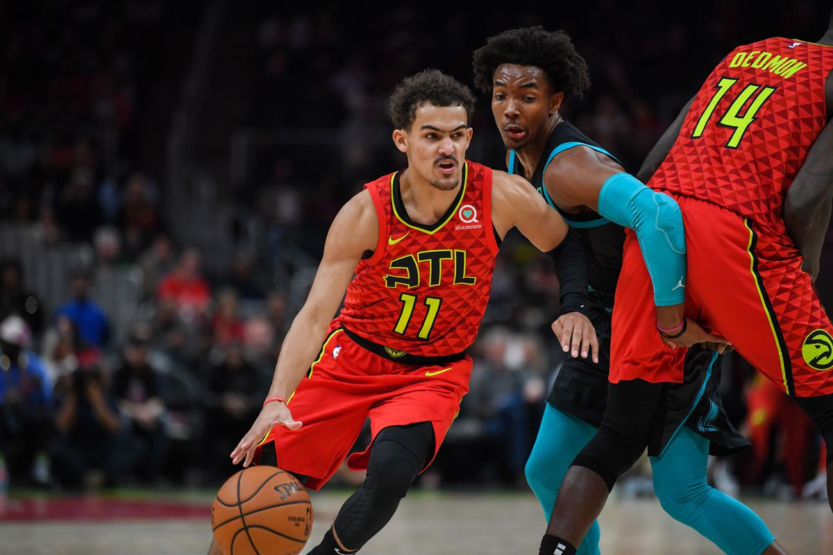 Trae Young named Eastern Conference Rookie of the Month - Peachtree ... b2d6e2c07
