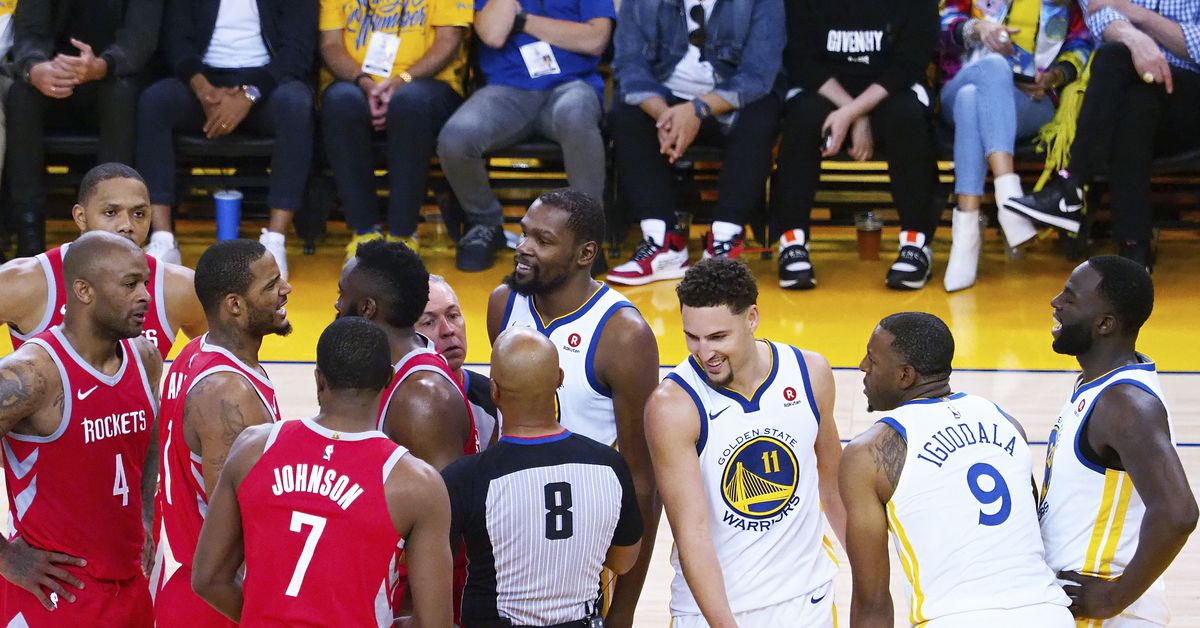 NBA Playoffs: Andre Iguodala out of Warriors vs Rockets Game 4 - Golden State Of Mind