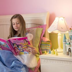 """There's nothing wrong with being a """"princess"""" — as long as it doesn't keep you from being other things, too, according to BYU researcher Sarah Coyne. But often, little girls embrace a limiting stereotype that shrinks their opportunities.  Photography by: Mark A. Philbrick/BYU Photo  Copyright BYU Photo 2016 All Rights Reserved photo@byu.edu (801)422-7322  5165"""