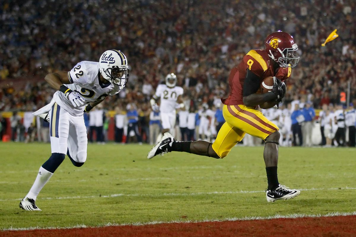 USC's Marqise Lee is not quite far enough along in Week Four to help the Trojans take out No. 2 Oklahoma.
