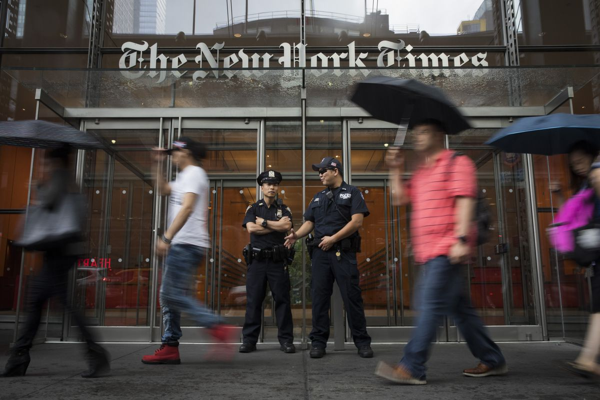 NYPD Deploys Forces To Major Media Outlets After Annapolis Newspaper Shooting