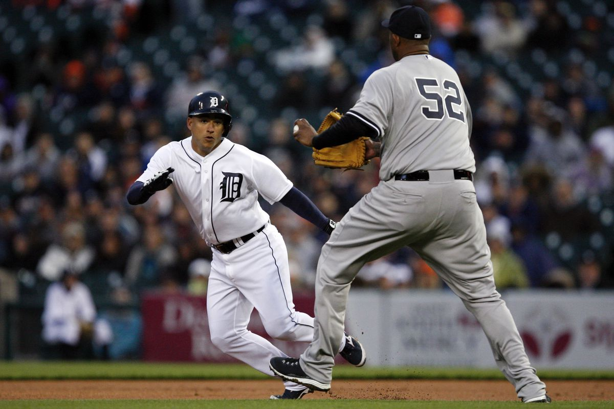 Jose Iglesias cannot escape from the mighty CC or from regression
