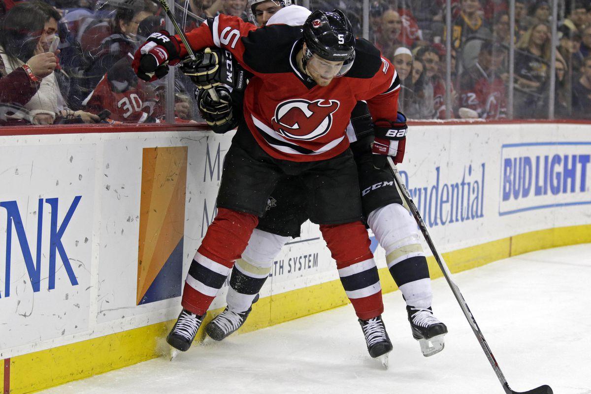 the latest 59b9b e84e4 NHL Defensemen Shot Attempt Shares, The New Jersey Devils ...
