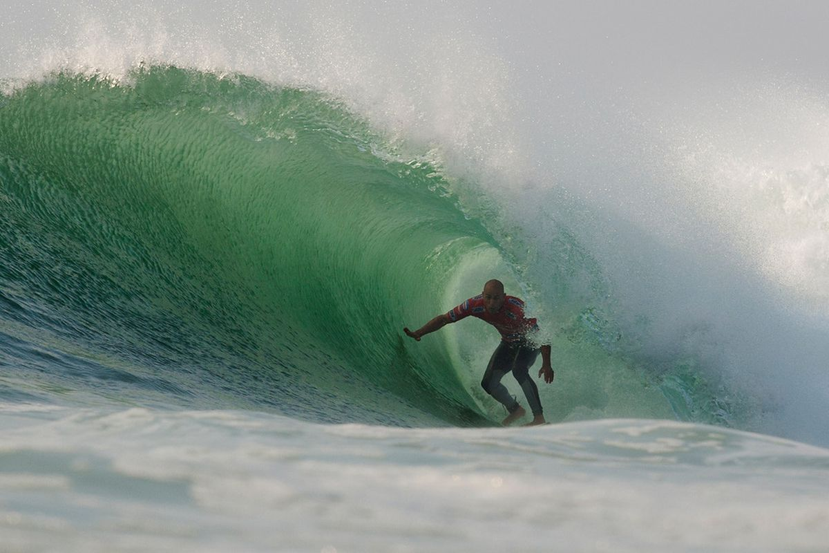 There's no pictures of Mike Hermann in our system, this is Kelly Slater