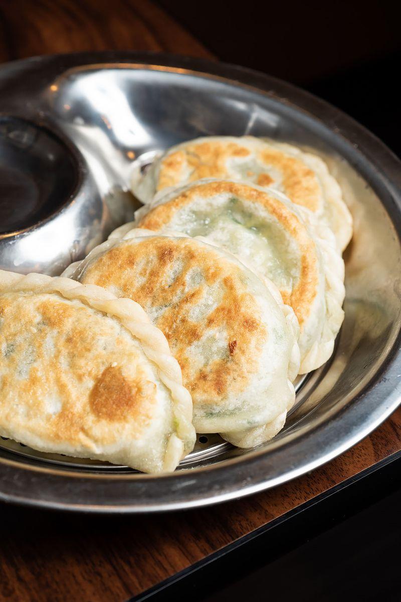 Pan-fried dumplings at You Kitchen