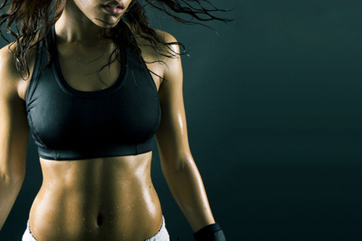 """Image credit: <a href=""""w.shutterstock.com/pic-53586490/stock-photo-sexy-brunette-fitness-wet-woman-after-workout.html?"""">Shutterstock/Nas Cretives</a>"""
