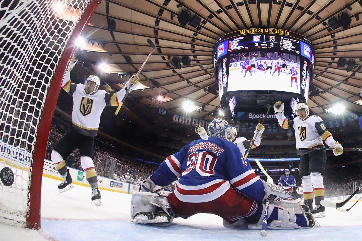 Vegas Golden Knights v New York Rangers