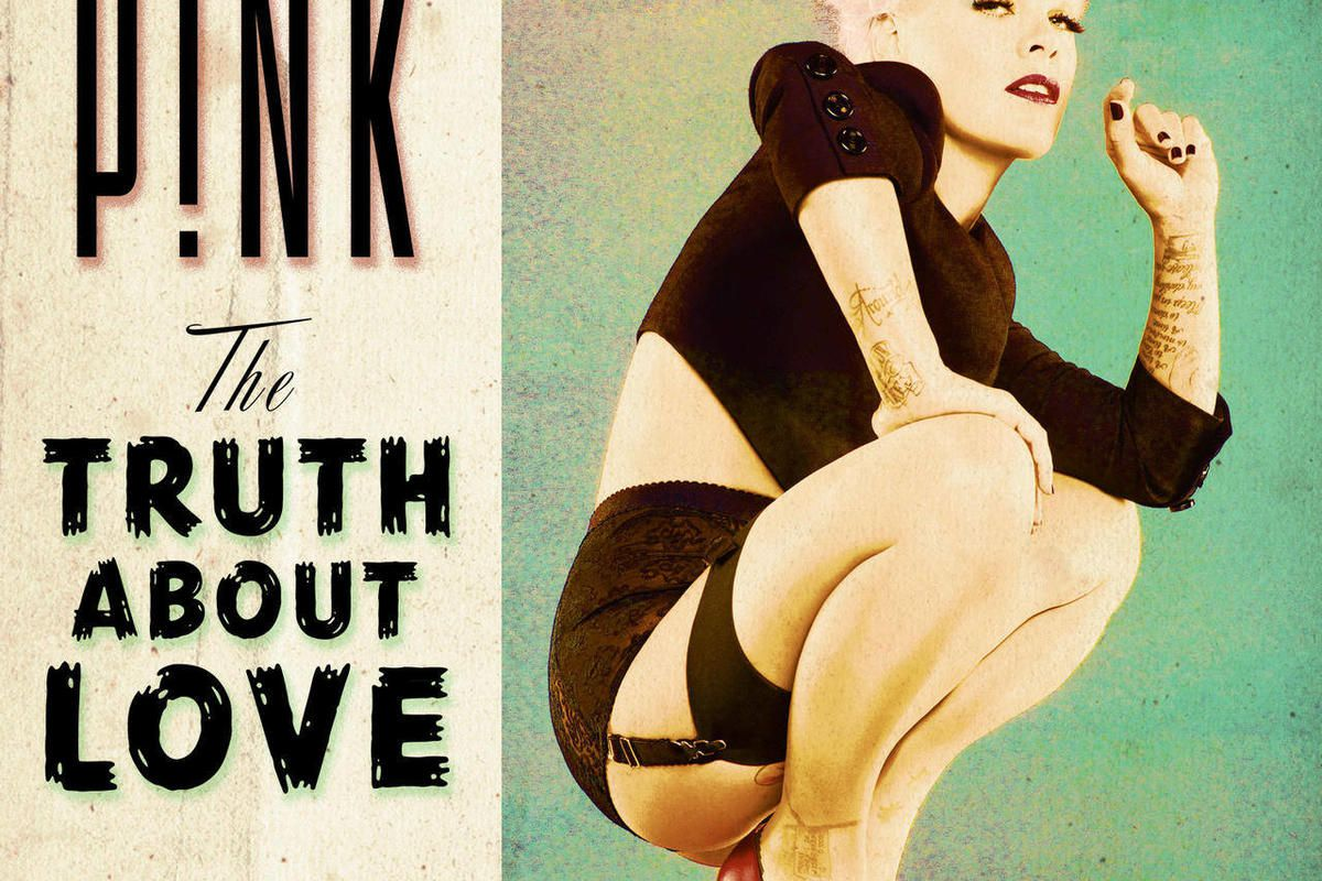 """This CD cover image released by RCA Records shows the latest release by P!nk, """"The Truth About Love."""""""