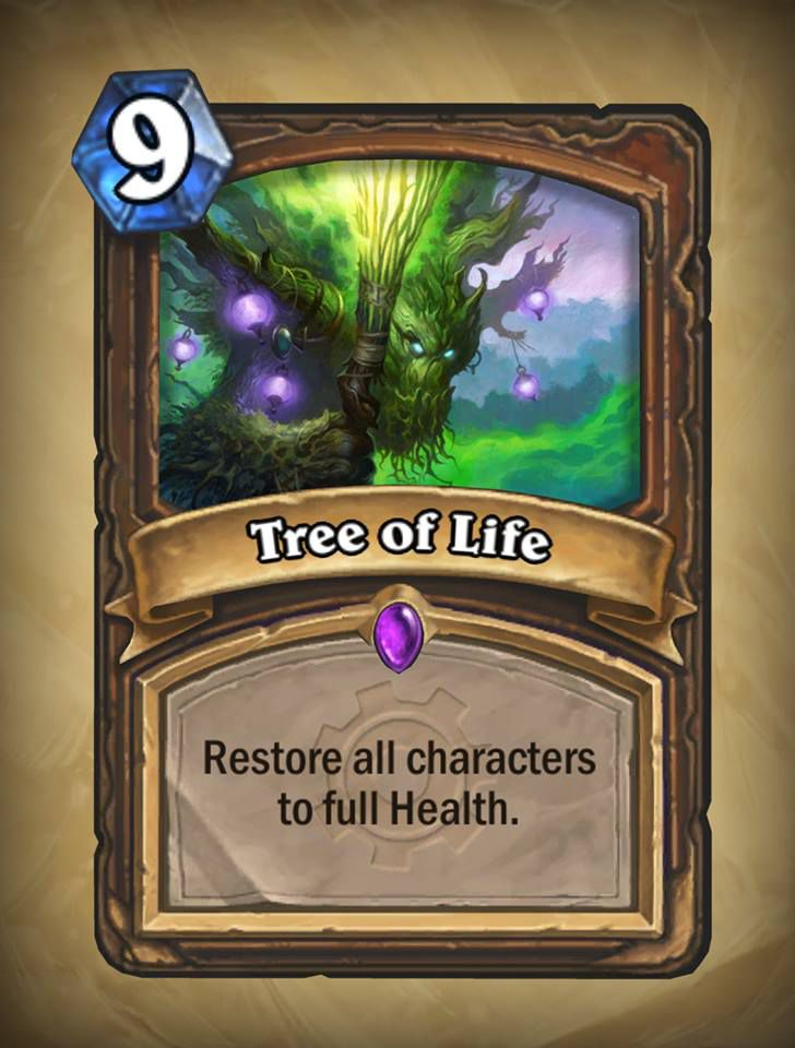 Hearthstone: Goblins vs. Gnomes Tree of Life