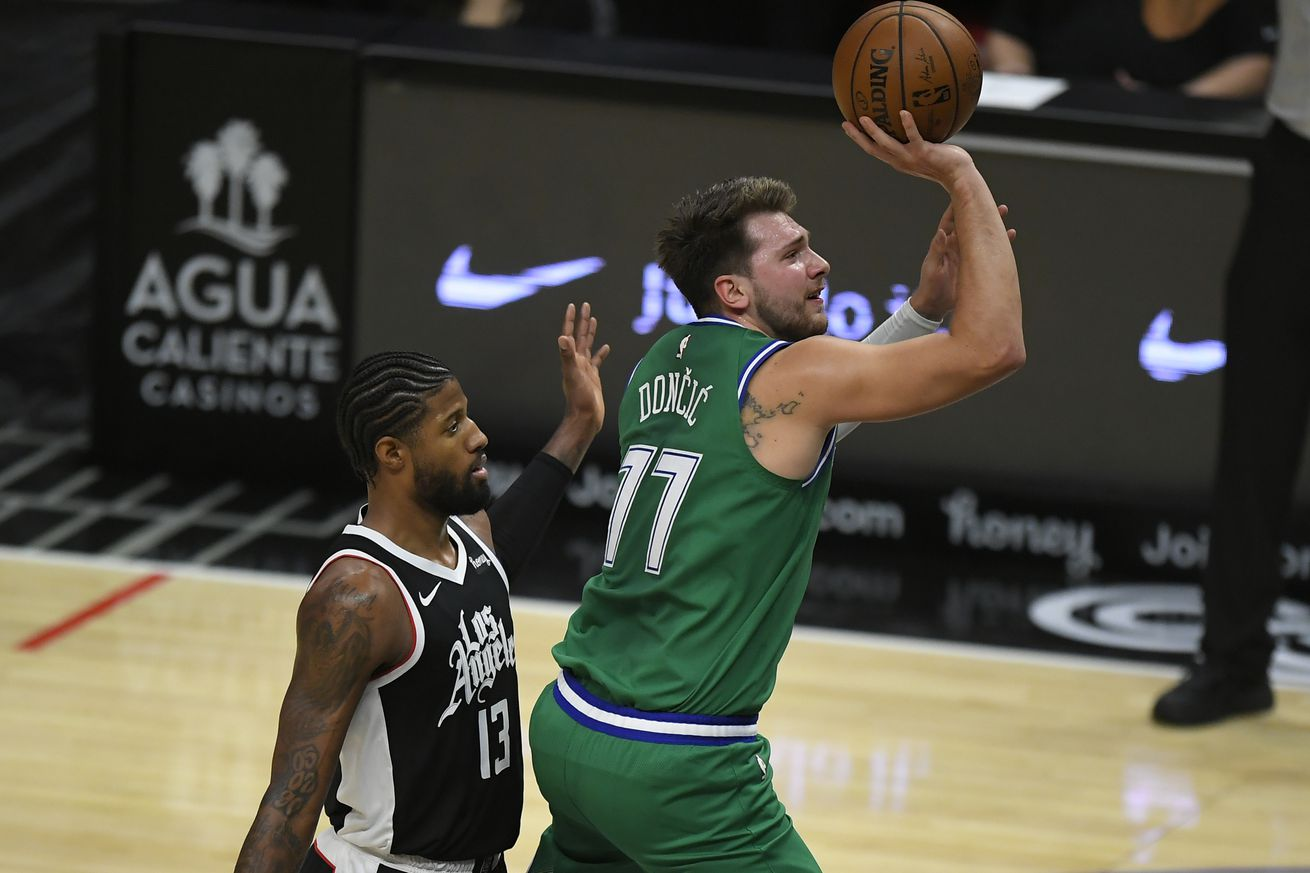 The Mavericks handed the Clippers their worst loss in franchise history