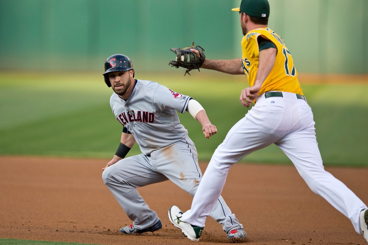 After a couple weeks in a run down, Jason Kipnis evades the injury bug.
