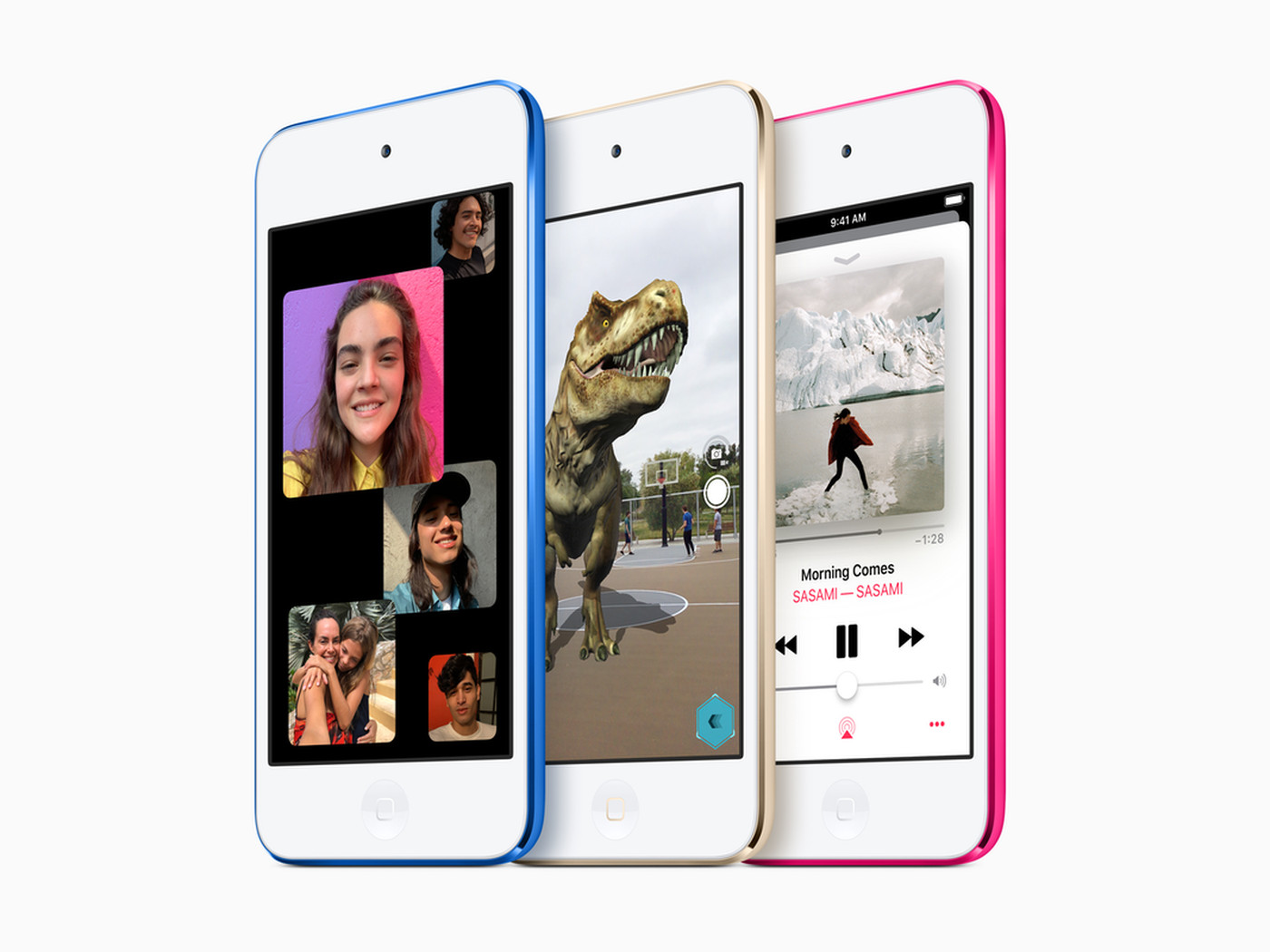 Apple Refreshes The Ipod Touch With The Iphone 7 S Processor The Verge
