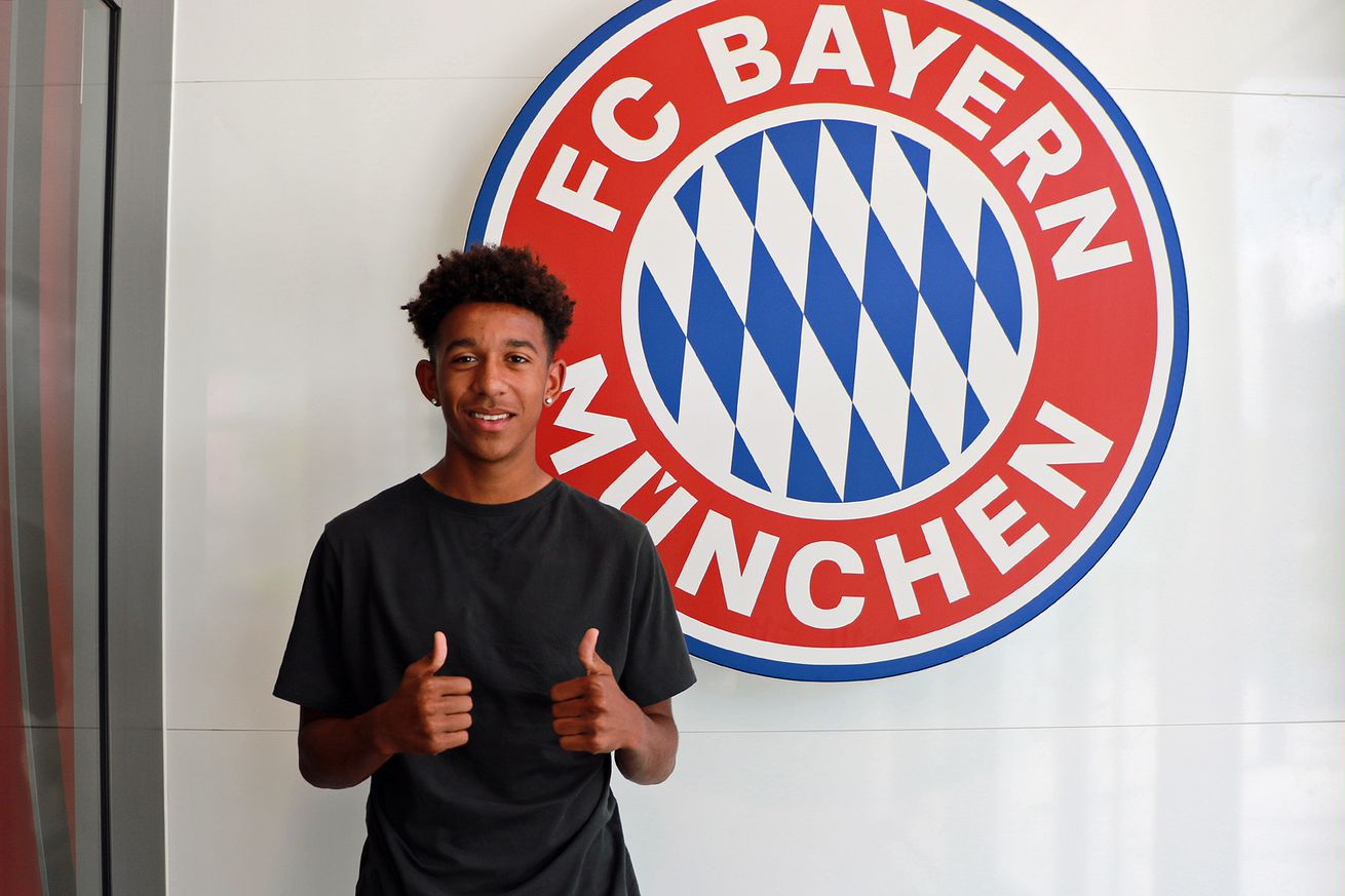 Chris Richards looks forward to his future with Bayern Munich