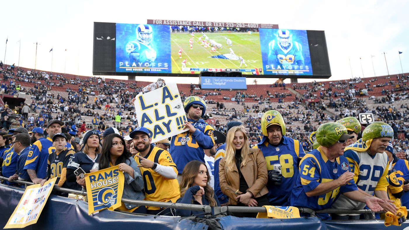 2c355f73 Is the Sean McVay era building out the fan base of the Rams? - Turf Show  Times