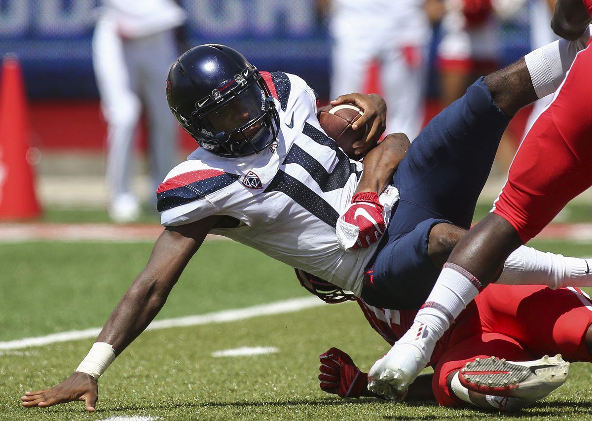NCAA Football: Arizona at Houston