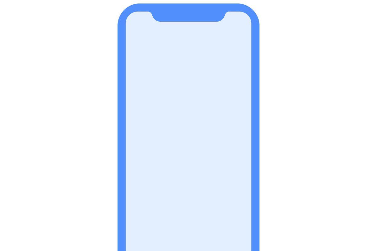 iPhone display bezel