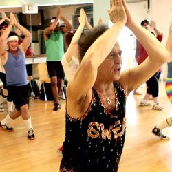 """<b><a href=""""http://www.richardsimmons.com/site/slimmons-studio"""">Slimmons Studio</a></b> (9306 Civic Center Dr): Two words: Richard Simmons. When he's in town, the patron sight of sequin-filled sweat seshes leads his explosively energetic classes (<b>$12</"""